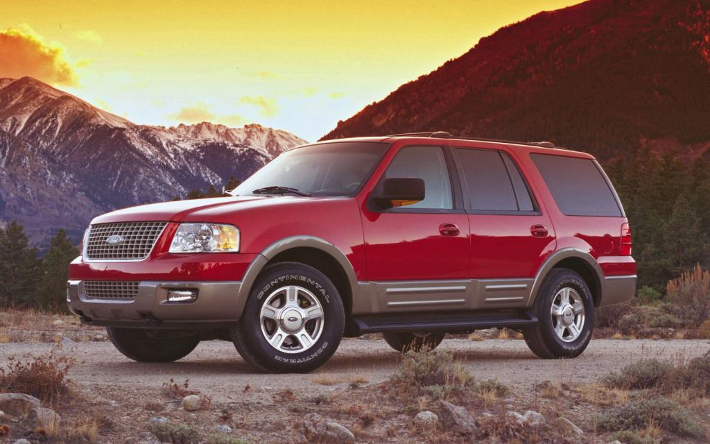 second generation ford expedition