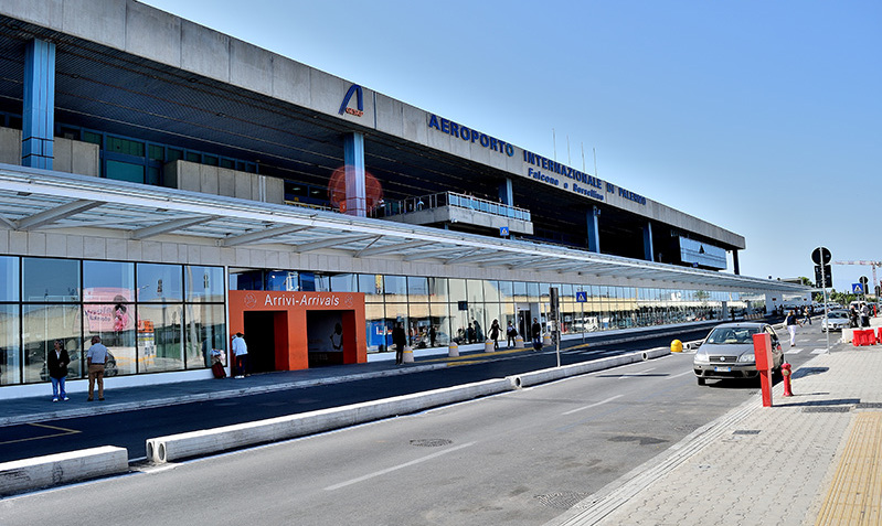 Sicily: the name of the international airport of Palermo
