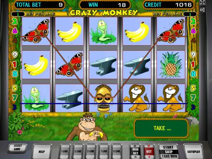 Игровой автомат crazy monkey crazy monkey obezyanki ru цены