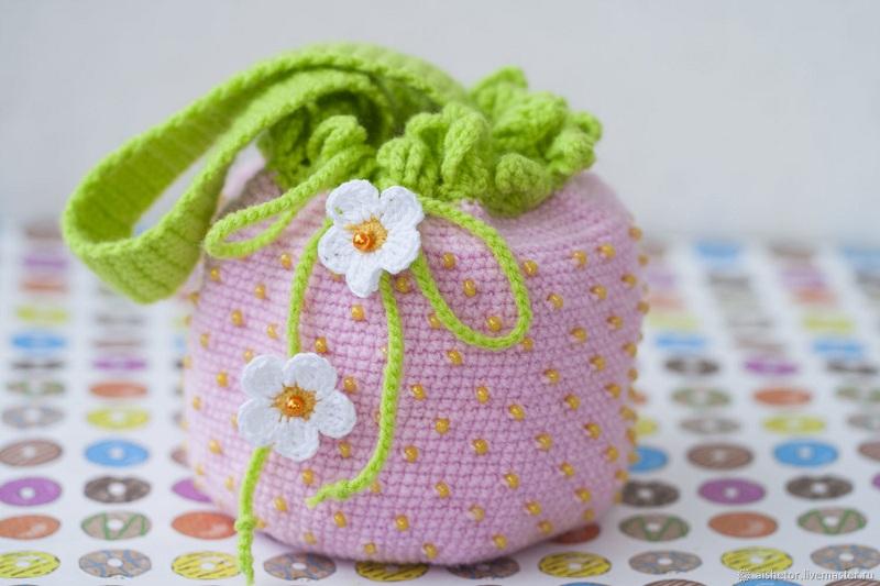 9ebfca242faf Детская сумочка крючком: описание, схемы, полезные советы :: SYL.ru