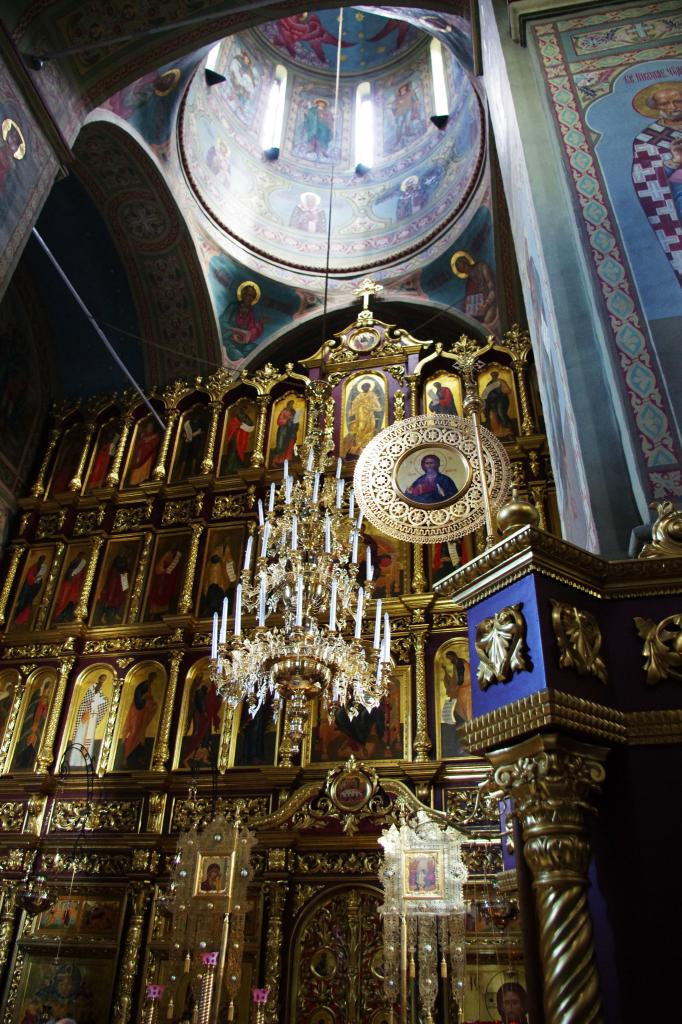 The decoration of the cathedral