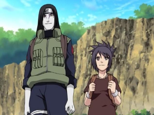 Anko and Orochimaru