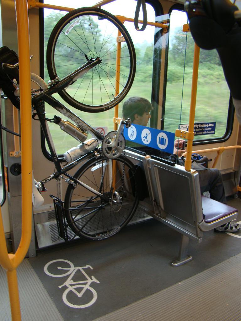 Крепление велосипеда