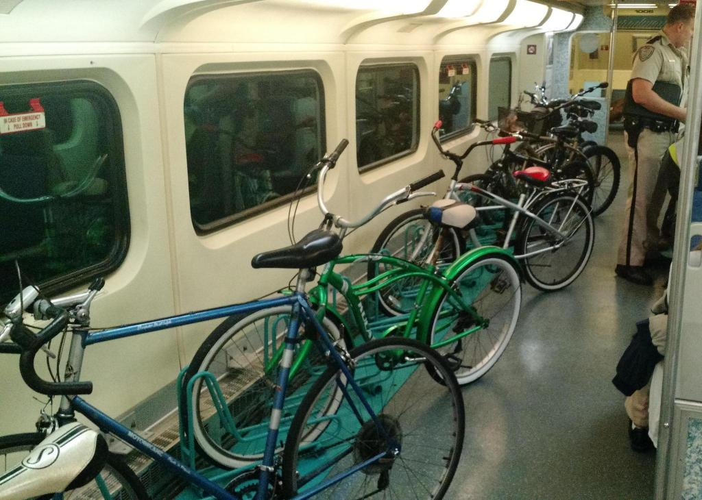 Вагон для велосипедов