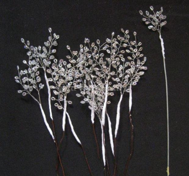 Snow twigs
