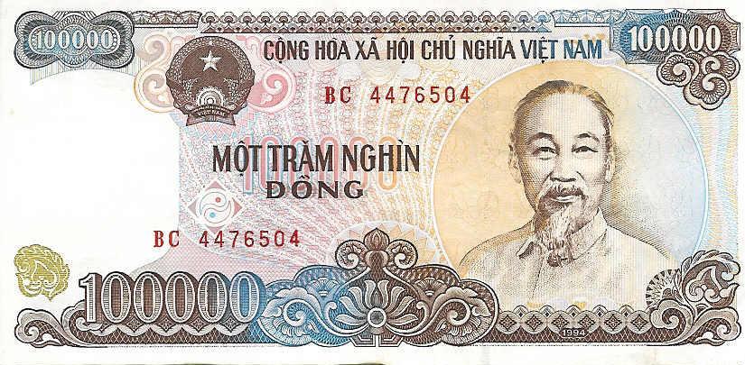 100 000 dong