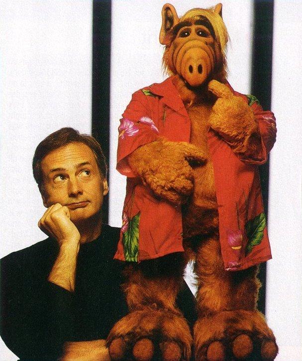 Paul Fusco and Alf