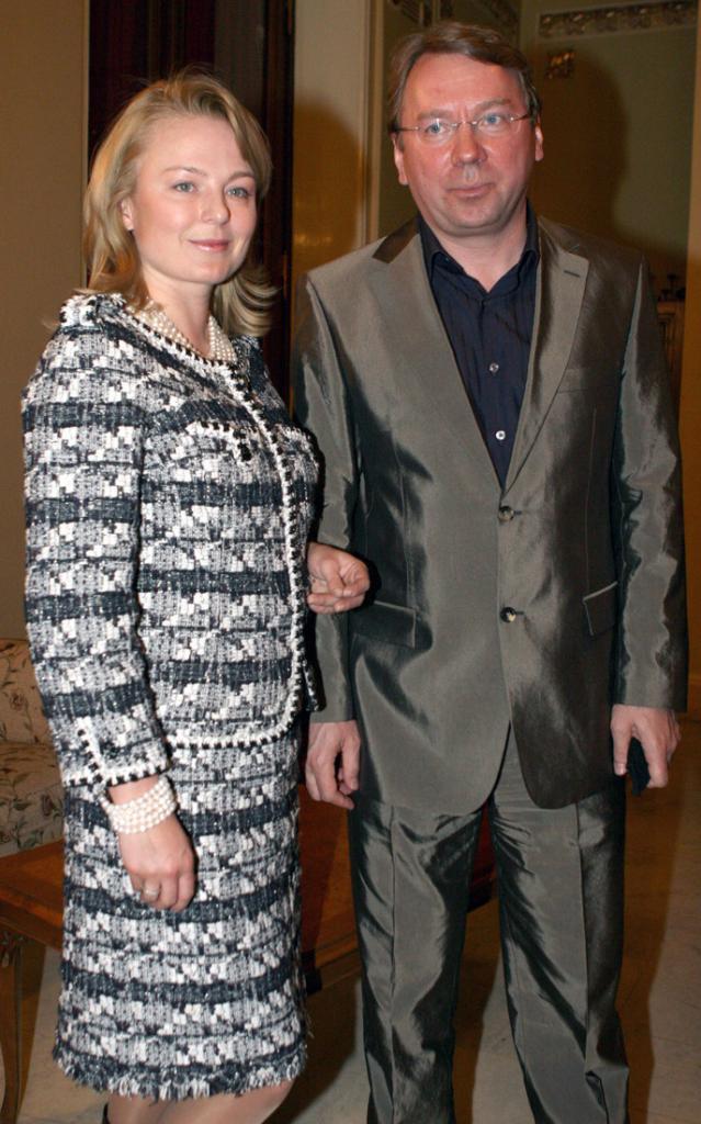 Vladimir and Alla Kozhiny