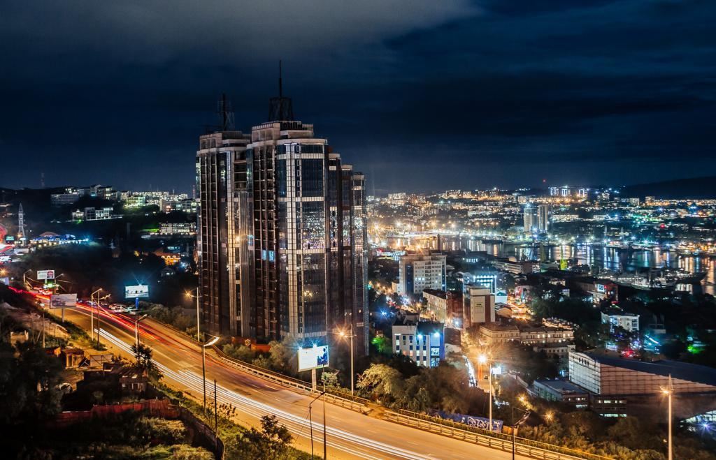Фотографии ночного владивостока