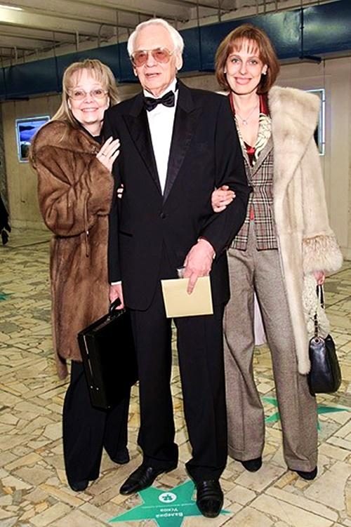 Наумова с родителями