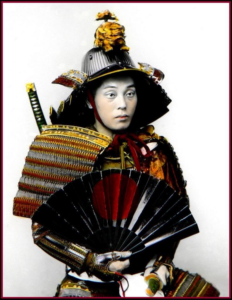 samurai fan