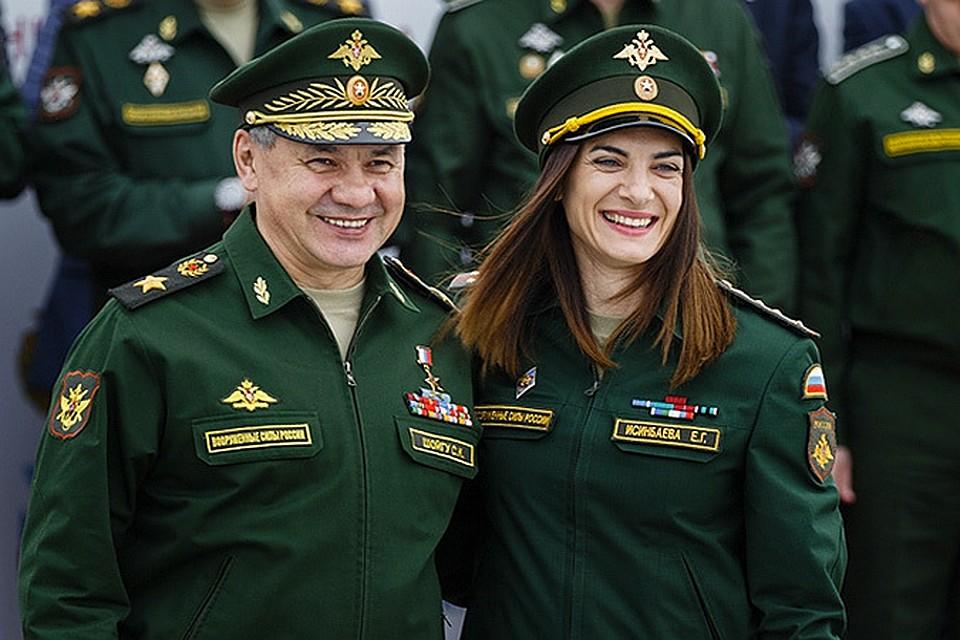 С Еленой Исинбаевой