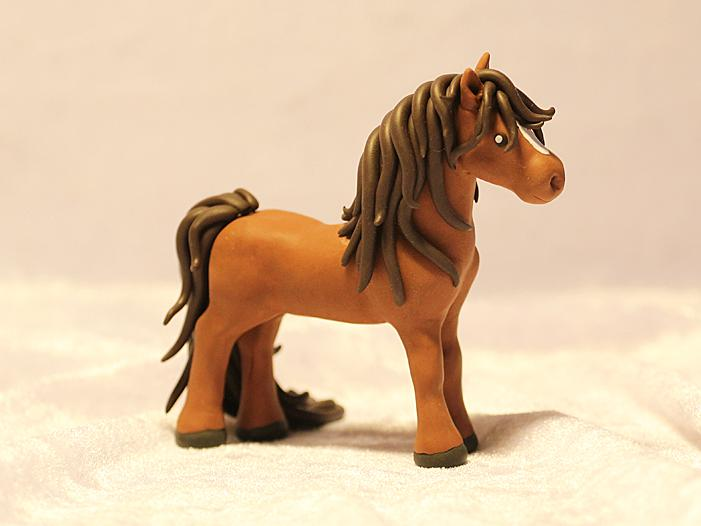 how to make a horse from plasticine