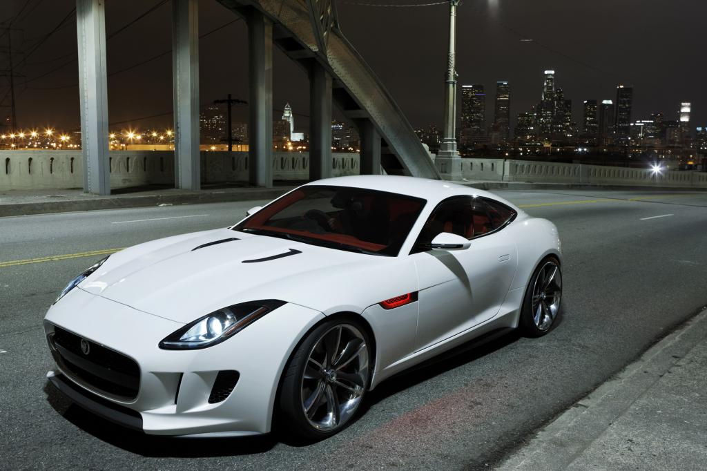 Jaguar F-Type White