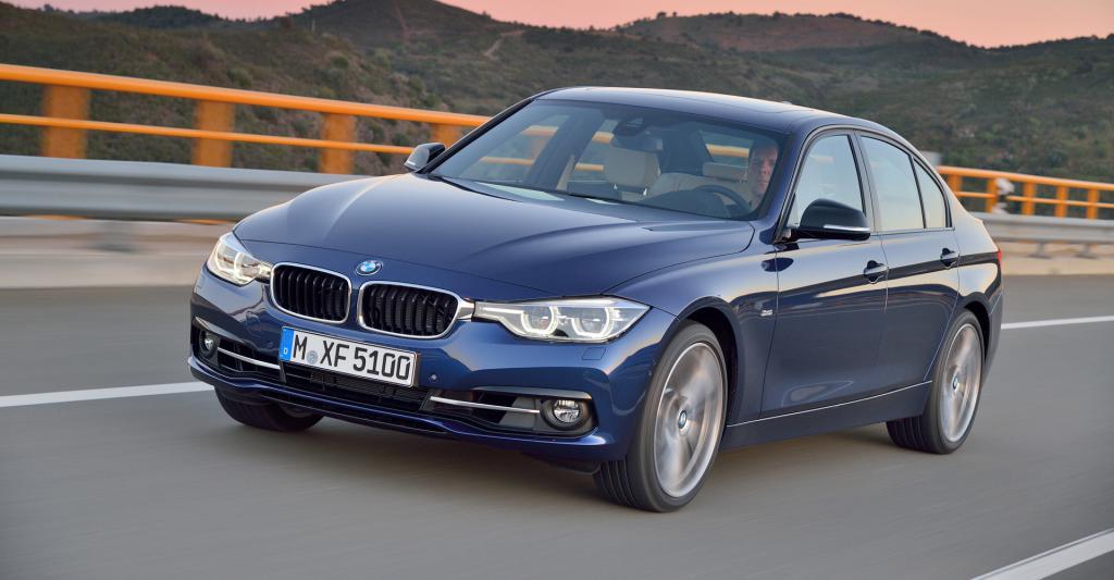 BMW f30 road