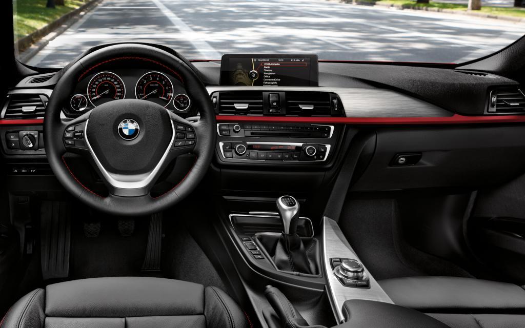BMW f30 interior