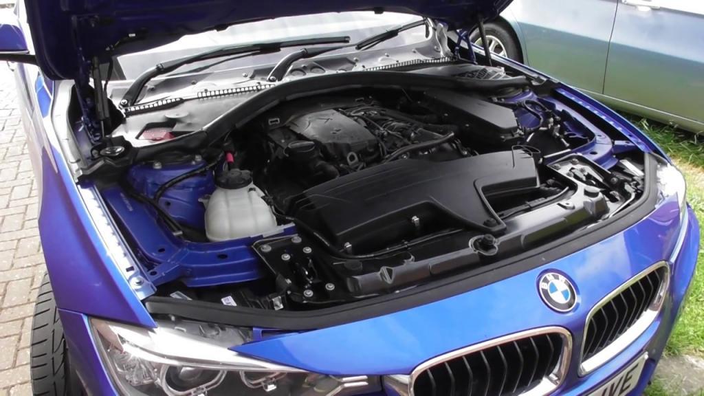 BMW f30 engine