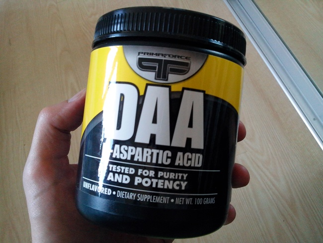 aspartic acid how to take