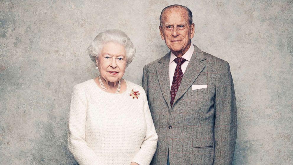 Елизавета 2 и ее супруг