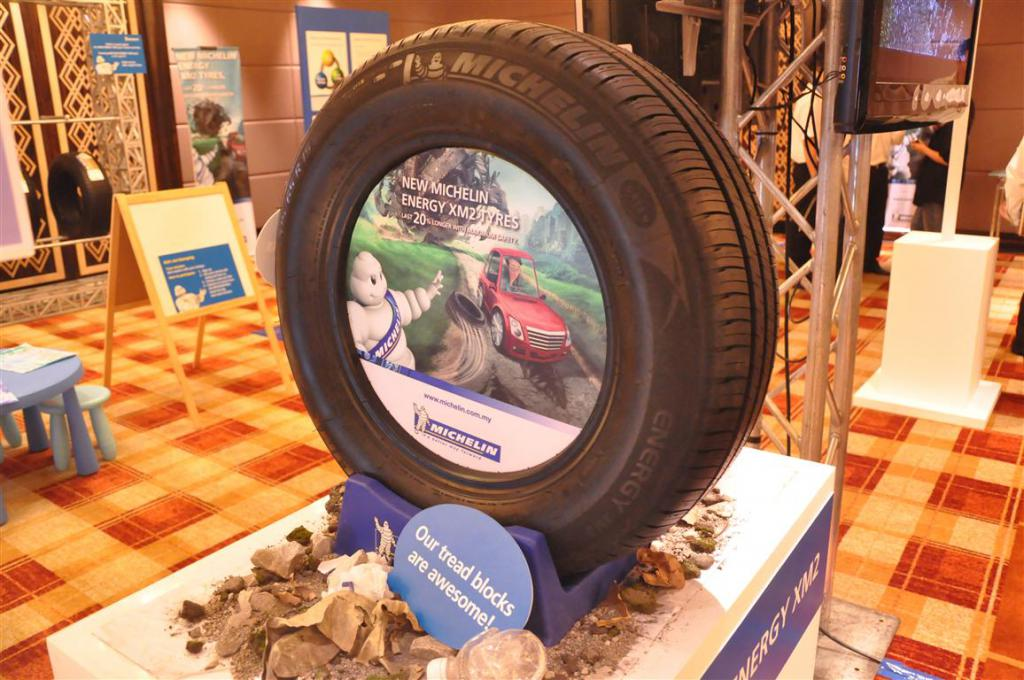 michelin energy xm2 на выставке