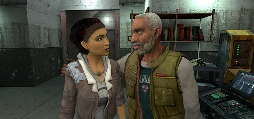 Alix Vance with Eli