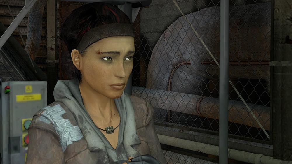 Alyx Vance in Half Life 2