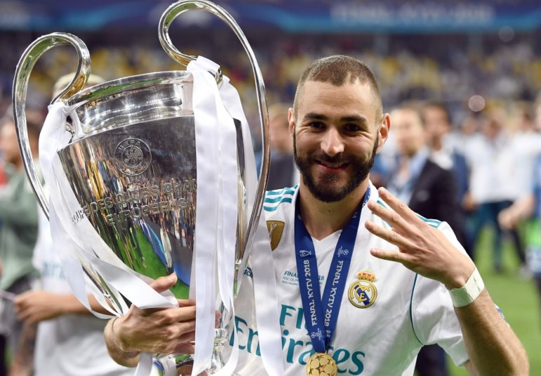 Benzema in the Champions League
