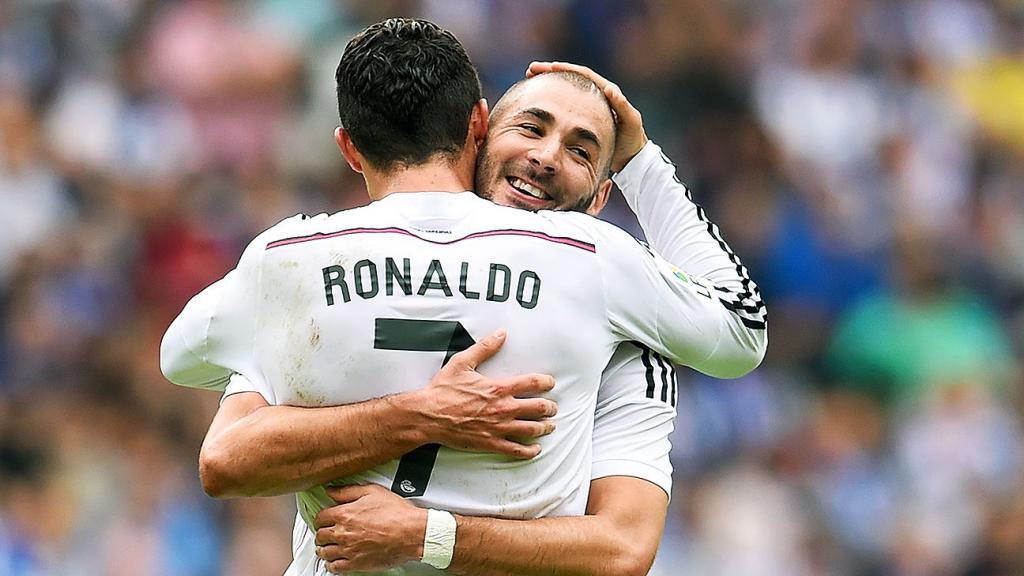 Benzema and Ronaldo