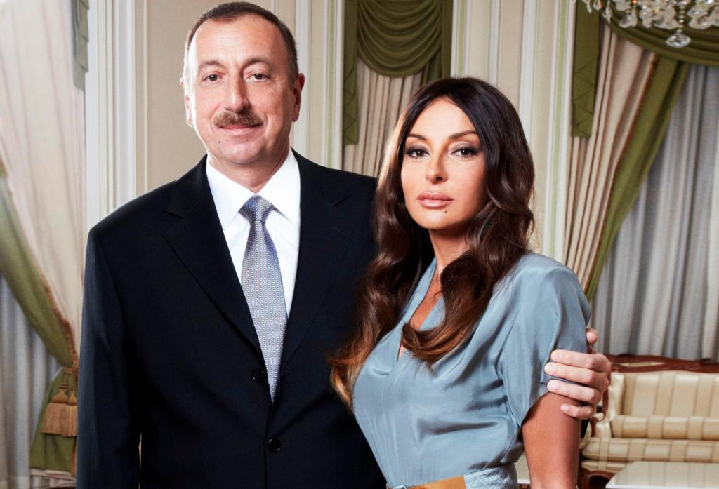Aliyeva Mehriban with her husband