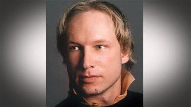 Breivik in his youth