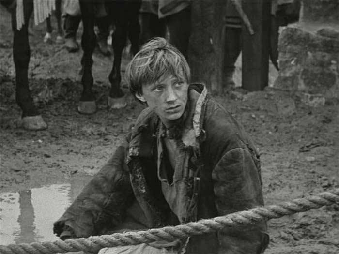"Nikolay Burlyaev in the film ""Andrei Rublev"""