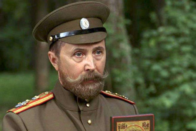 "Nikolay Burlyaev in the film ""Admiral"""