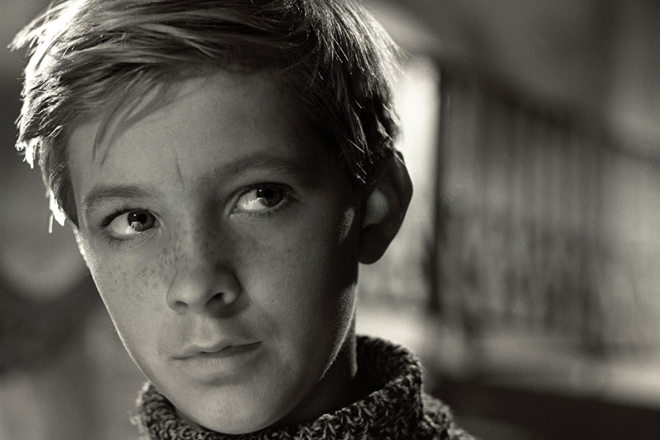 "Nikolay Burlyaev in the film ""Ivanovo childhood"""