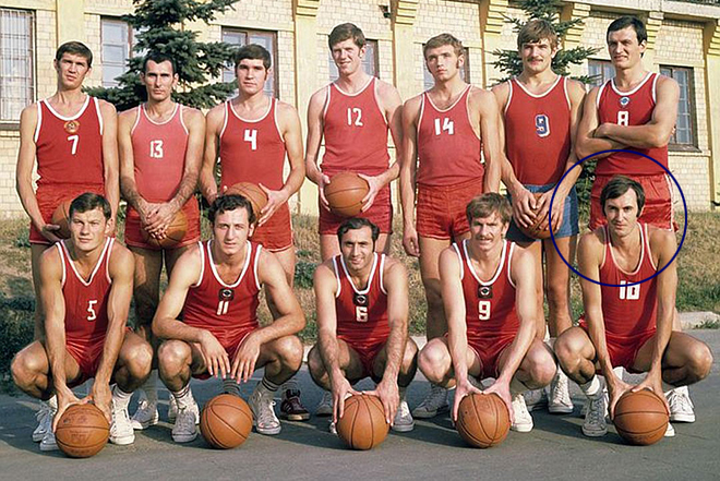 USSR national team, Sergey Belov