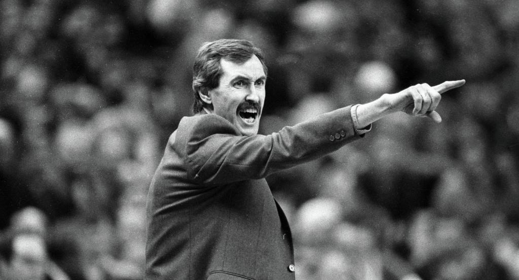 Coach Sergey Belov