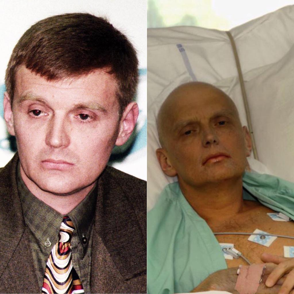 Александр литвиненко фото до и после