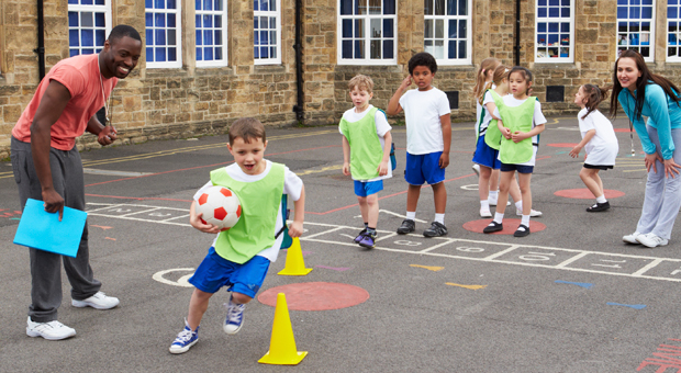How are physical education classes in preschool