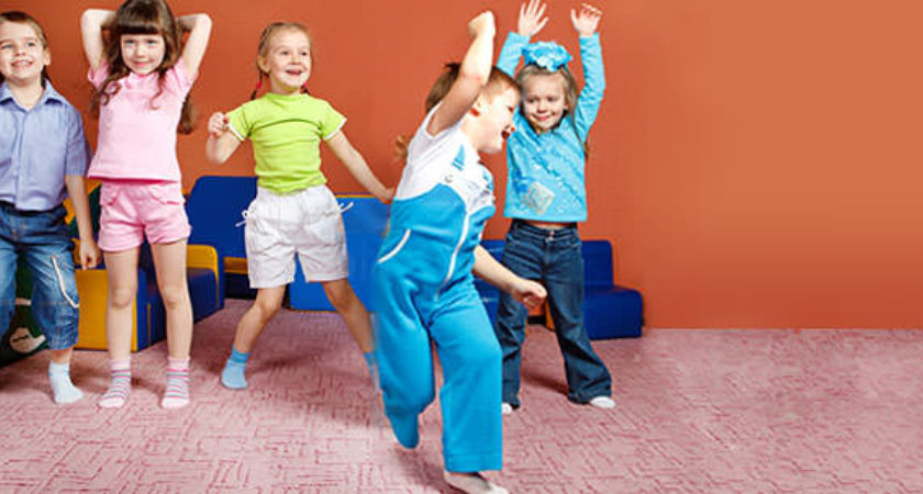 how to take children on physical education in preschool