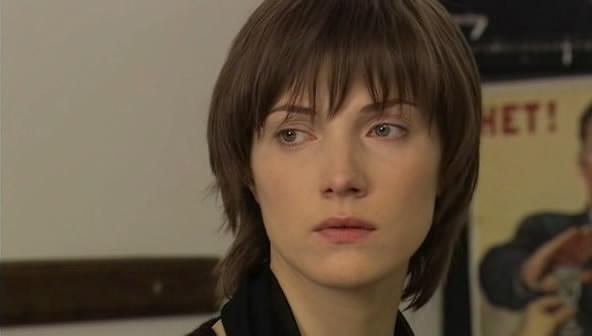 Anna Herm in the film