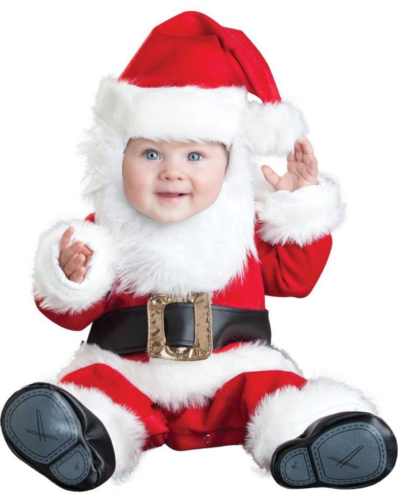 children's costume of Santa Claus