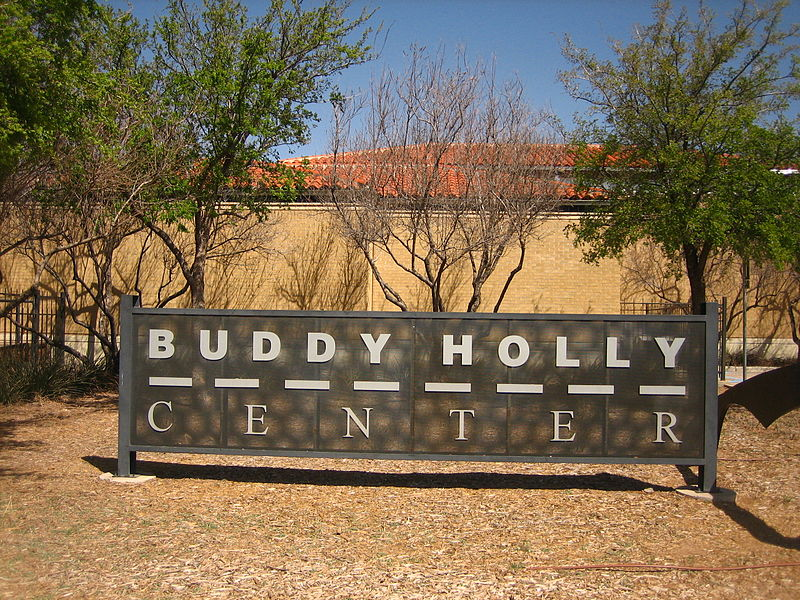 Center Buddy Holly