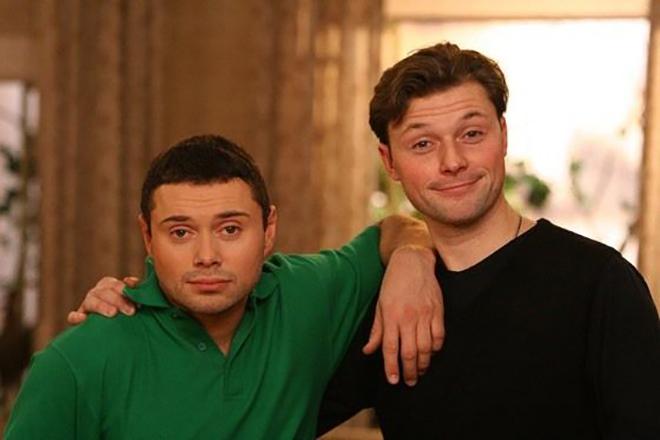 Илья Носков с братом
