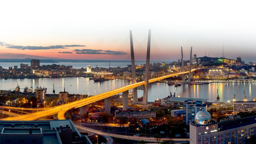 Vladivostok. Golden Bridge.