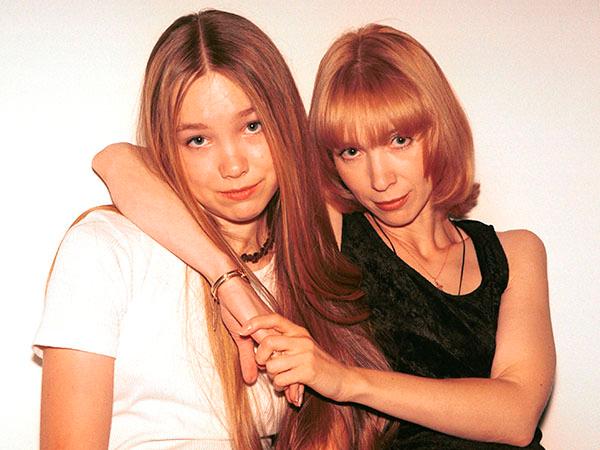 Marina Levtova with her daughter