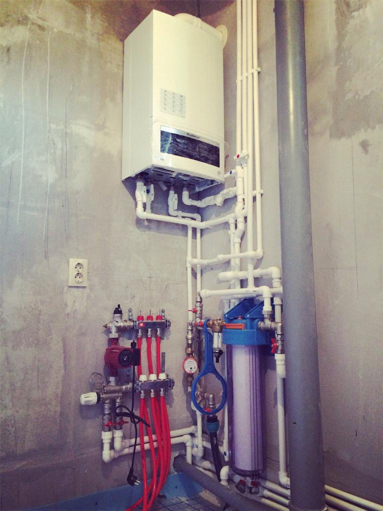 wall-mounted gas boilers buderus dual