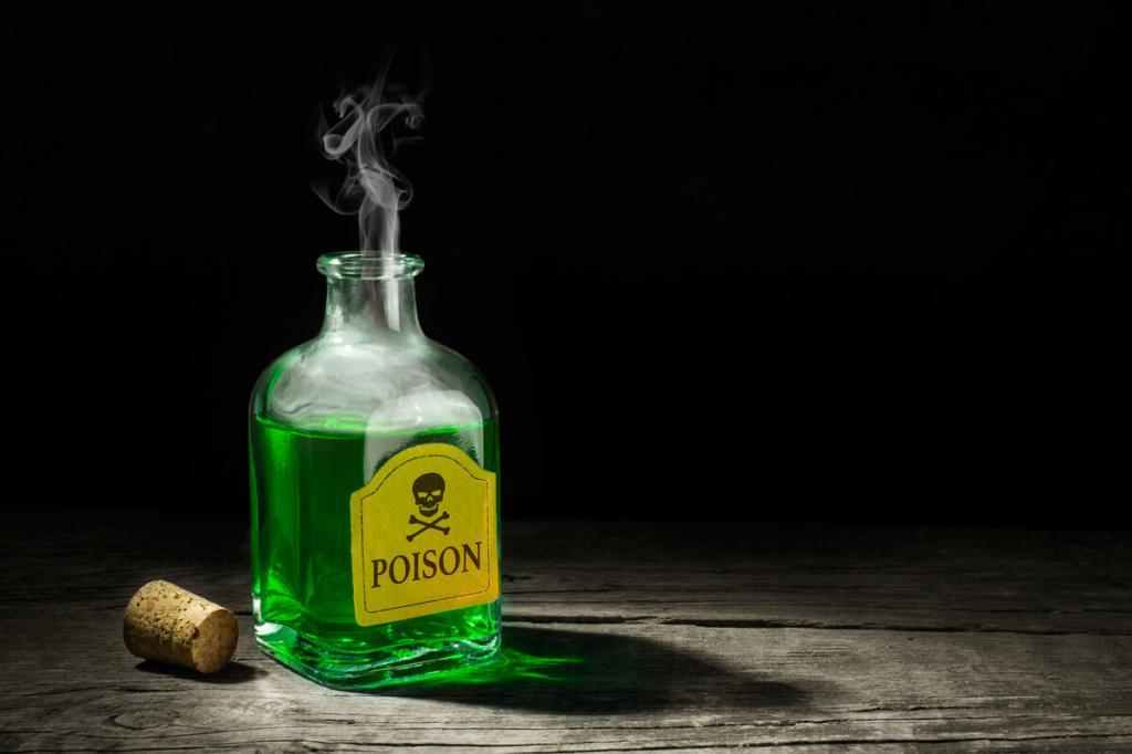 Яд в бутыльке