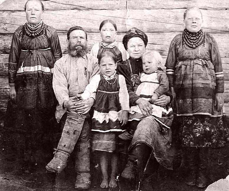 Семья Рыжакова Федора Ферапонтовича