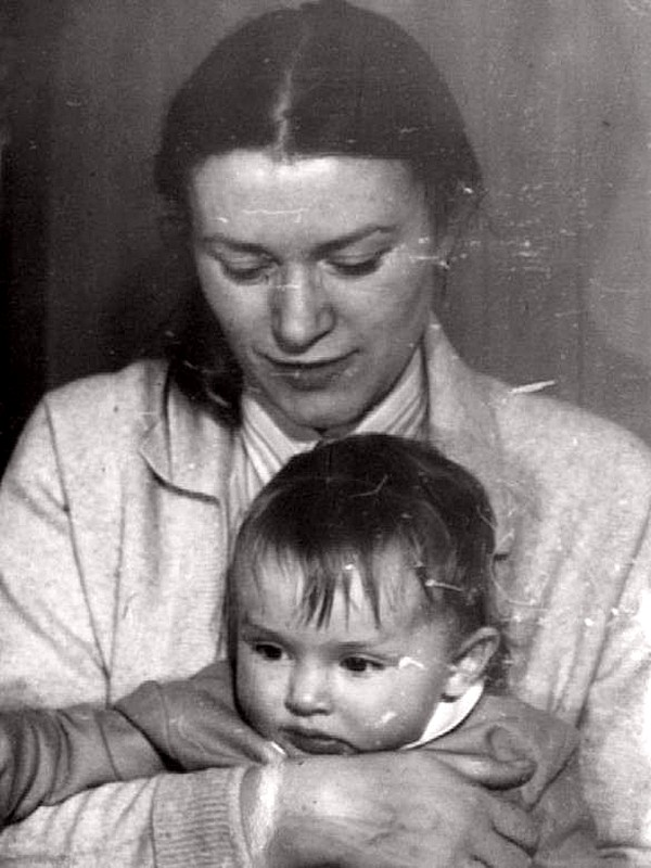 Валентина Талызина с дочерью Ксенией