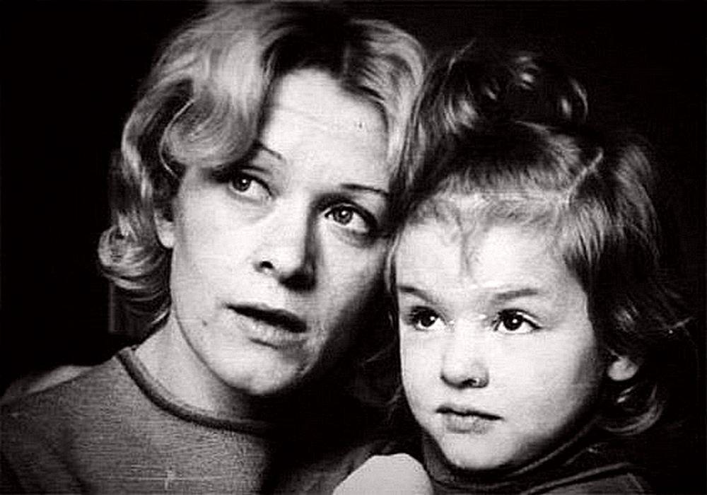Ксения Хаирова с мамой