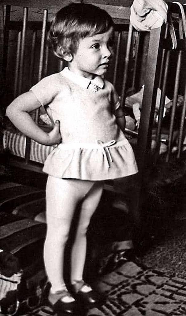 Ксюша Талызина, будущая актриса
